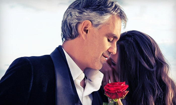 Andrea Bocelli - Times Union Center: Andrea Bocelli at Time Union Center on June 13 at 7:30 p.m. (Up to 48% Off)