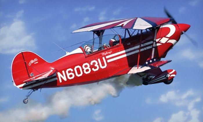 CA Aerobatics - Lake Balboa: $249 for Acrobatic Airplane Flight with Photo & Video from CA Aerobatics in Van Nuys ($699 Value)