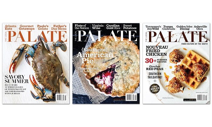 """The Local Palate - Charlotte: $22 for a One-Year Subscription with Online Access to """"The Local Palate"""" (Up to $34.99 Value)"""
