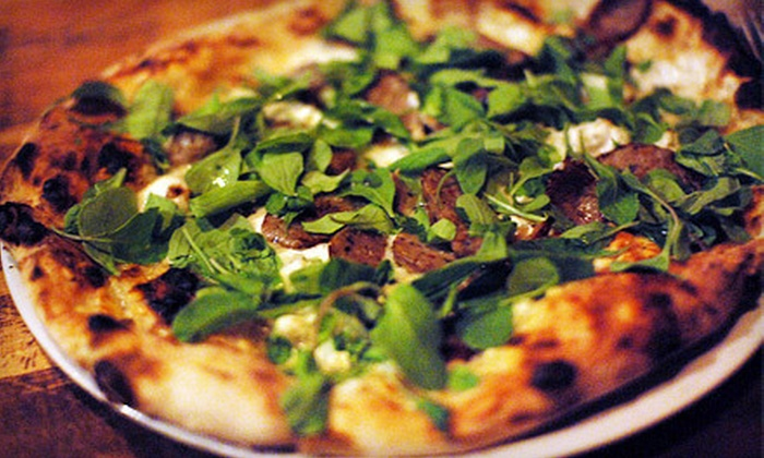 Custom Built Pizza - Spring Valley: Artisanal Pizzas at Custom Built Pizza (53% Off). Two Options Available.