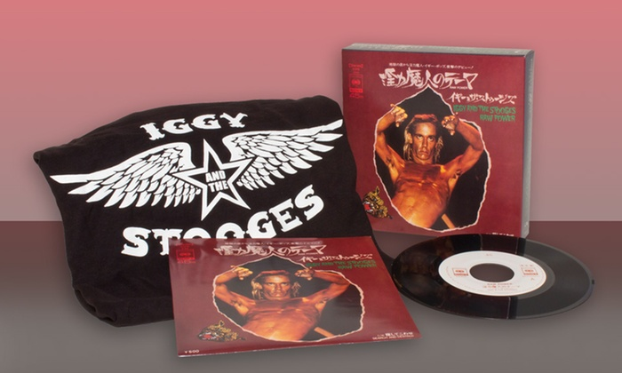 Iggy and the Stooges Box Set: Iggy and the Stooges Box Set with 7'' Vinyl and T-shirt.