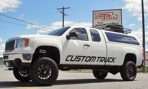 Custom Truck: Vehicle Customizations at Custom Truck (Up to 51% Off). Three Options Available.