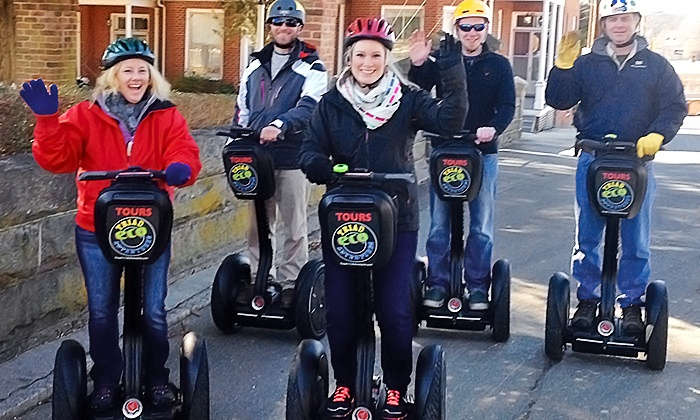 Triad ECO Adventures - Downtown Winston-Salem: $30 for a Two-Hour Guided Segway Experience from Triad ECO Adventures ($49 Value)