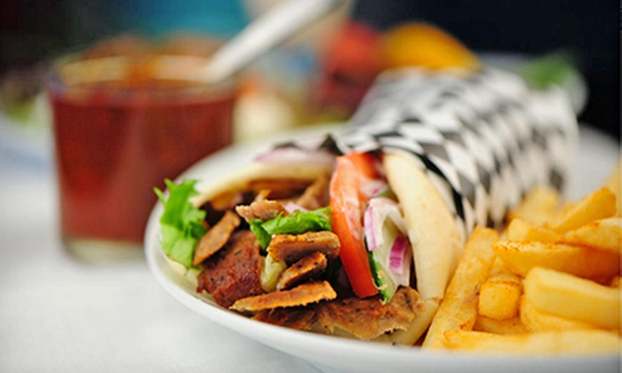 Akropolis Restaurant & Coffee - Newport Pier: Greek Cuisine and Drinks at Akropolis Restaurant & Coffee (Half Off). Two Options Available.