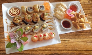 Phad Thai: 24-Piece Sushi and Dumpling Combo from R149 for Two at Phad Thai