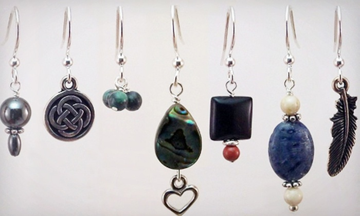 Ambrosia Bead Shop - Ellicott City: Earring-Making Class for One or Two at Ambrosia Bead Shop (Up to 62% Off)