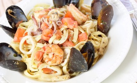 Italian Seafood Cuisine at Port Atlantic Yacht Club (Up to 48% Off). Two Options Available.