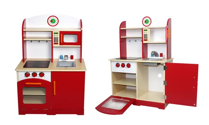 Cucina giocattolo in legno groupon goods - Cucina giocattolo in legno ...