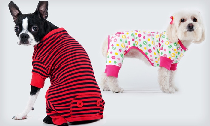 Lookin' Good Pet Pajamas: Lookin' Good Pet Pajamas (Up to Half Off). Multiple Styles and Sizes Available.