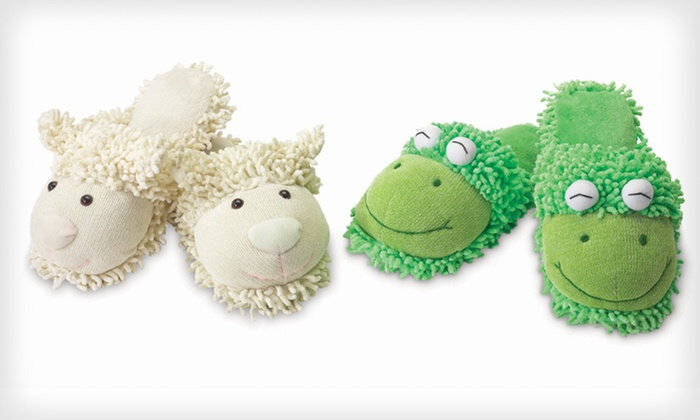 Microwavable Aromatherapy Animal Slippers: $14.99 for Aromatherapy Animal Slippers ($30 List Price). Multiple Sizes and Styles Available. Free Returns.