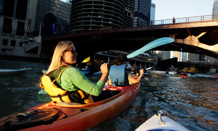 Wateriders Kayak Tours - Riverwalk: Architecture or Ghost Tour, or Kayak Rentals at Wateriders Kayak Tours (Up to 57% Off). Three Options Available.