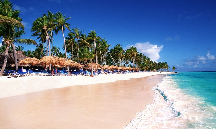 null - Abilene, TX: All-Inclusive Stay for Two at Natura Park Beach Eco Resort & Spa in the Dominican Republic; Includes Taxes and Fees.