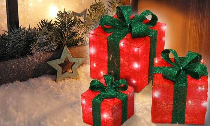 Pacchi Natale Luminosi.Pacchi Di Natale Luminosi A 29 90 7 Di Sconto