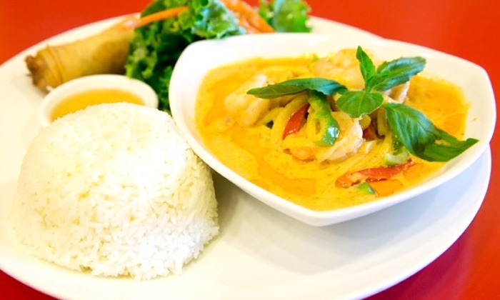 Thai Away Home - Downtown : Thai Cuisine for Two or Four at Thai Away Home (35% Off)