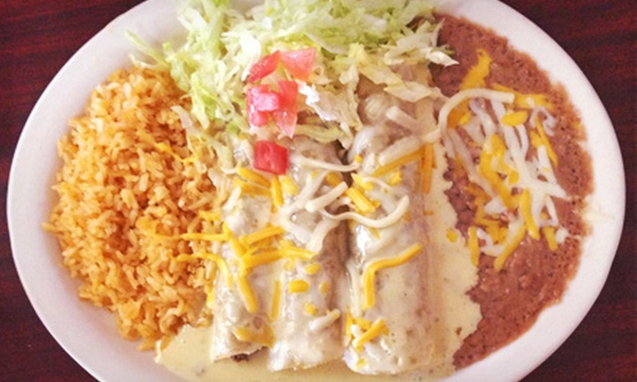 Alvarado's Restaurant and Catering - Lubbock: $7 for $14 Worth of Mexican Cuisine at Alvarado's Restaurant and Catering