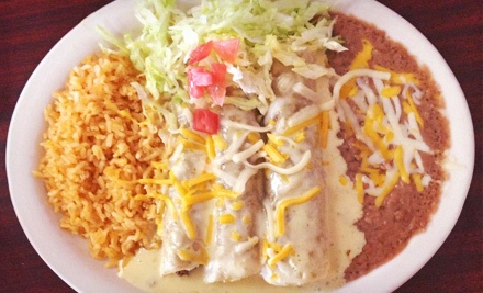 $7 for $14 Worth of Mexican Cuisine at Alvarado's Restaurant and Catering