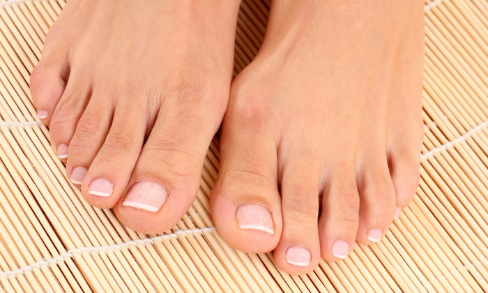 Andrea's Organic Hair Studio & Day Spa - North Naples: $47 for a Mani-Pedi Spa Package at Andrea's Organic Hair Studio & Day Spa ($95 Value)
