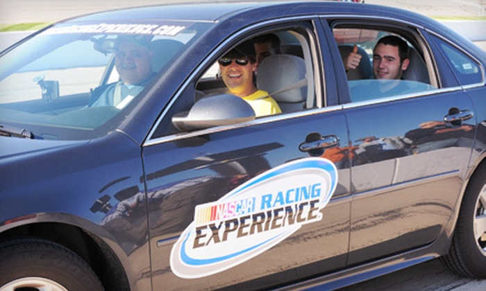 NASCAR Racing Experience - Fairfield: $72 for a Pace-Car Ride and Race Ticket on September 8 at NASCAR Racing Experience ($145 Value)