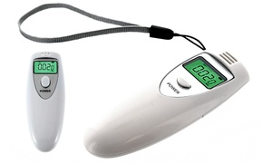 Personal Digital Breathalyzer With Led Display