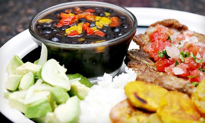 Pasion Latina - North Bergen: Latin American Dinner for Two or Four at Pasion Latina in North Bergen (Up to 63% Off)