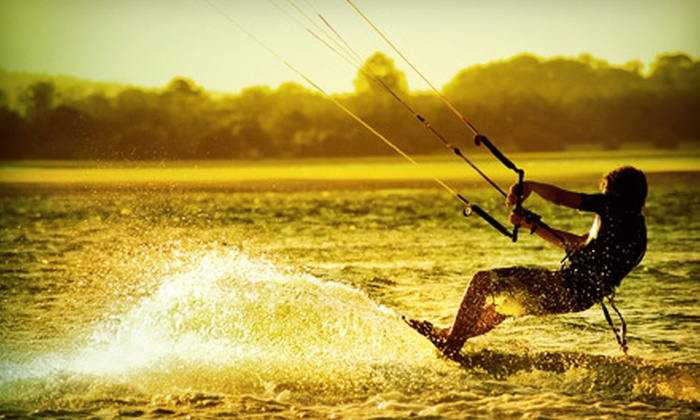 Unhooked Kite boarding. - Multiple Locations: One or Two Semiprivate Introductory Kitesurfing Lessons for One or Two from Zen Athletics (Up to 73% Off)