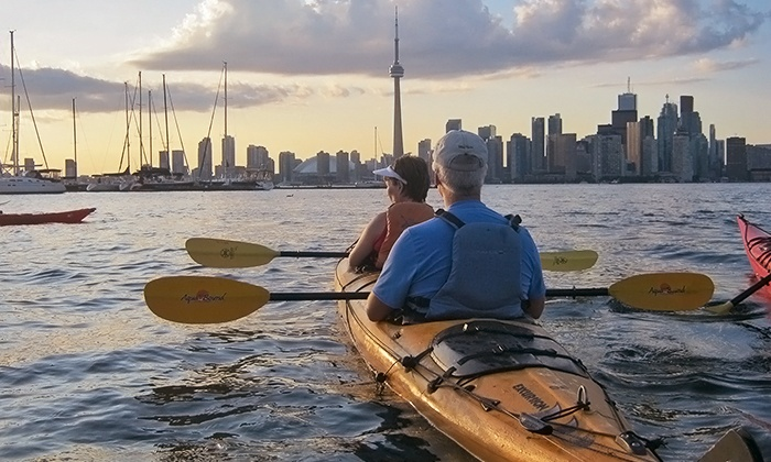 Harbourfront Canoe & Kayak Centre - Harbourfront Canoe & Kayak Centre: C$70 for  a Three-Hour Tandem Kayak Tour from Harbourfront Canoe & Kayak Centre (Up to C$145.77 Value)