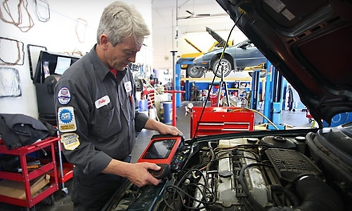 Auto Care Super Saver - Multiple Locations: One or Two Car-Care Punch Cards with Three Oil Changes and Additional Services from Auto Care Super Saver (Up to 84% Off)