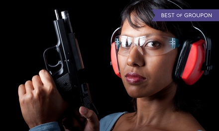 Shooting-Range Package for Two or a Ladies' Class for One or Two at Parabellum Firearms (Up to 53% Off)