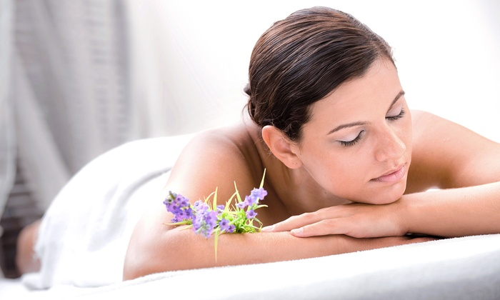 Lia Schorr - Midtown Center: Massage with Body Scrub & Pedicure, or Facial, Mini-Microdermabrasion & Mask at Lia Schorr (Up to 76% Off)