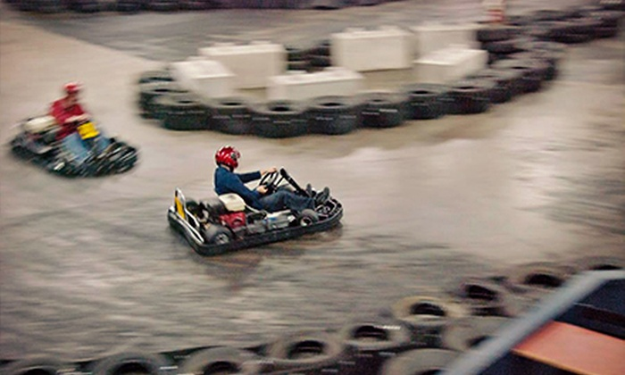 Top Karting - District Saint - Raymond - Vanier: 15 Minutes of Indoor Go Karting for One or 30 Minutes of Indoor Go Karting for Eight at Top Karting (Up to 59% Off)