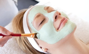 Angela & Friends Salon: One or Two Acne-Reducing or Anti-Aging Facials at Angela & Friends Salon (Up to 55% Off)