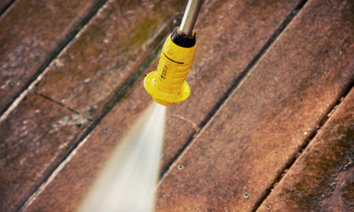 Dirt Vanishers Power Washing and Cleaning LLC - West Bloomfield: $59 for One Hour of Pressure Washing from Dirt Vanishers Power Washing and Cleaning LLC ($125 Value)