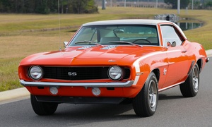 Golden Era Motors: 45- or 75-Minute Muscle-Car-Driving Experience from Golden Era Motors (Up to 58% Off)