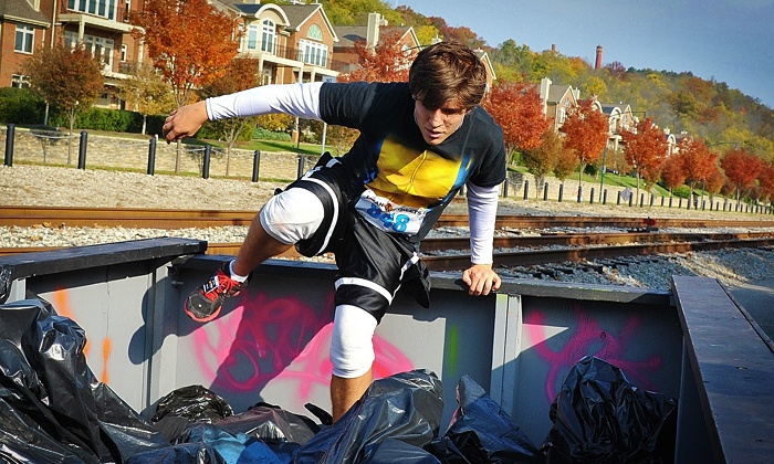 Mean Streets - East Louisville: KingFish Mean Streets 5K or 10K Urban Obstacle Race at KingFish on the River (Up to 67% Off)