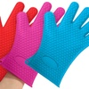 Heat-Resistant Silicone Cooking Gloves