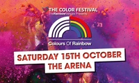 The Color Festival, 15 October in Birmingham, Rainbow Arena