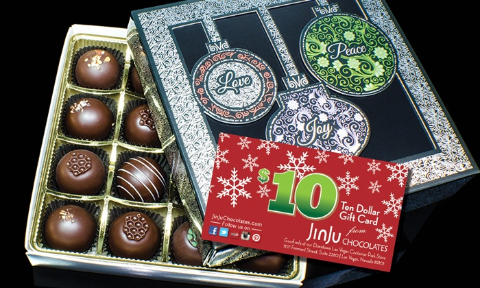 JinJu Chocolates - Downtown: Hand-Crafted Novelty or Holiday Chocolate Assortments from JinJu Chocolates (Up to 46% Off)