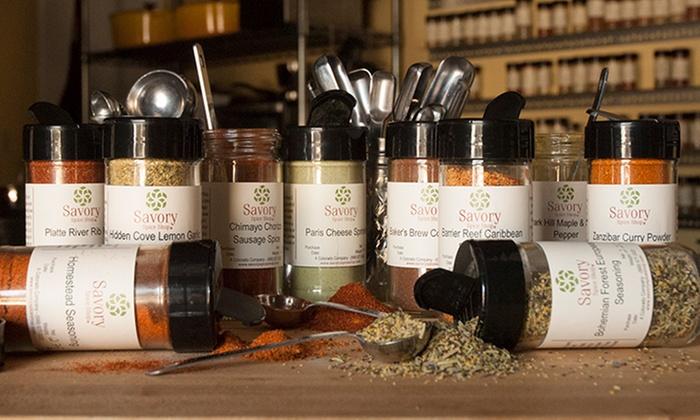 Savory Spice Shop - Atlanta - Atlanta: $7 for $14 Worth of Gourmet Spices at Savory Spice Shop - Atlanta