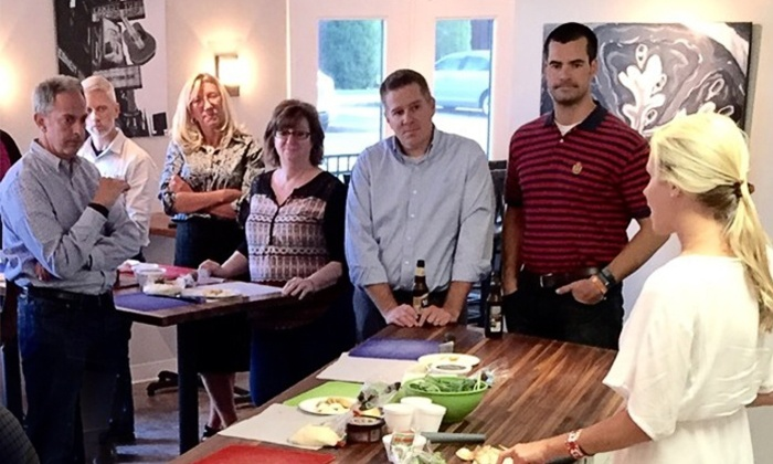 Dabble Studio - Nashville: Demo and Sampling Cooking Class for One or Two at Dabble Studio (56% Off)