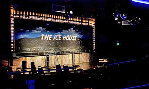 The Ice House: Standup for Two Plus $10 Worth of Food and Two Tickets to a Future Show at The Ice House (Up to 80% Off)