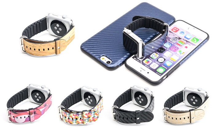 innovative design 3d5f1 d14cf Apple Watch Band & iPhone Case | Groupon Goods