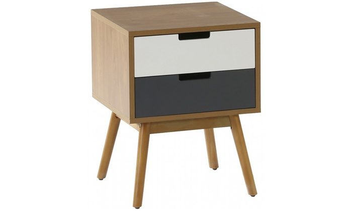 Bedside tables groupon goods for Spl table 98 99