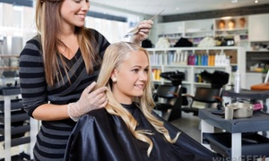 Fusions Salon & Studio: Up to 54% Off Women's Haircut at Fusions Salon & Studio