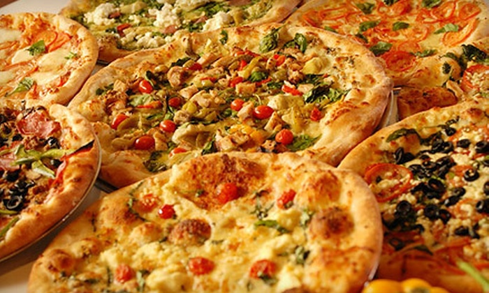 Russo's NY Pizzeria and Italian Kitchen - The Woodlands: $10 for $20 Worth of Pizza Monday–Thursday or Friday–Sunday at Russo's NY Pizzeria and Italian Kitchen