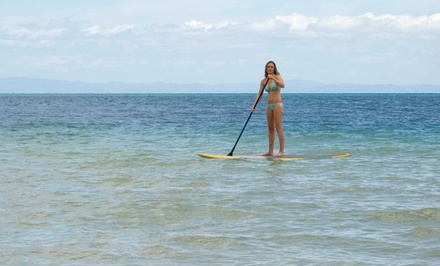 60-Minute Standup-Paddleboard Lesson for One, Two, or Three from Scott Crawford of Soma Get Fit (Up to 80% Off)