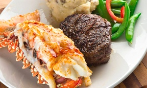 Silver Fox: $35 for $50 Worth of Steakhouse Cuisine at Silver Fox