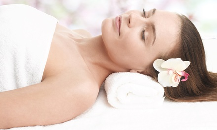 One, Two, or Three Choices: Massage, Facial, or Mani-Pedi at Pierre & Carlo European Salon & Spa (Up to 47% Off)