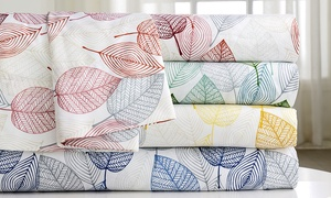 Vera Printed Microfiber Sheet Set (4-Piece)  at Vera Printed Microfiber Sheet Set (4-Piece) , plus 9.0% Cash Back from Ebates.