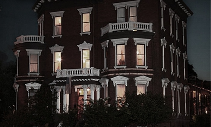 Haunting Tours, Inc. - Downtown Savannah: Haunted Walking Tour for One or Two from Haunted Tours, Inc. (Up to 55% Off)