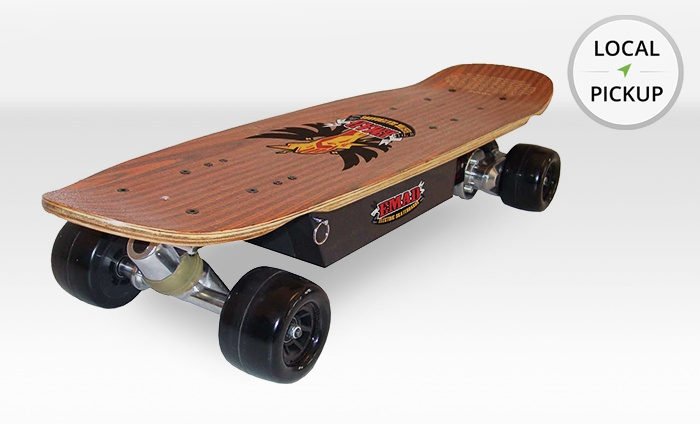 EMAD Skateboards - Fairview Shores: Concrete Carver Electric Skateboard. Pick Up in Store at EMAD Skateboards.